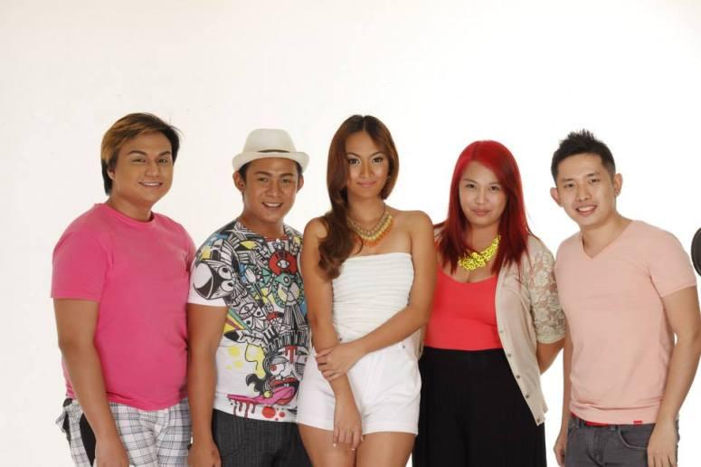 The People Behind: (L-R) MUA - Froilan De Guzman Tomimbang; Hair - Khali Erik Delos Reyes; Model - Abby Borja; Stylist - Mhay Fabico; Photographer - Sylvester Sy